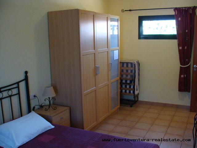 "For sale! 2 bedroom villa in the urbanization ""Tamaragua"" on Fuerteventura"