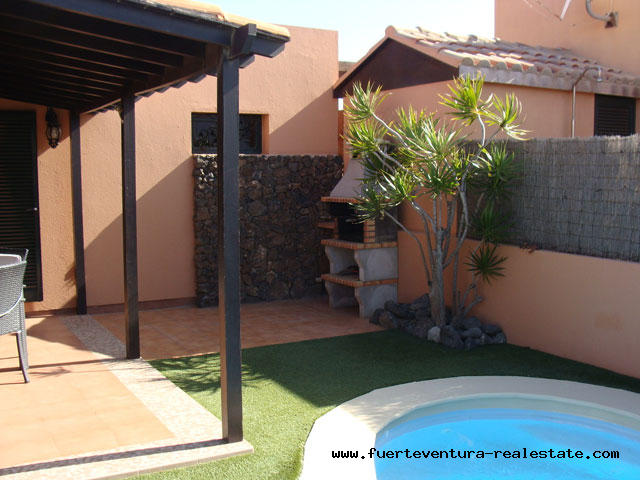 "For sale! 2 bedroom villa in the urbanization ""Tamaragua"" on Fuerteventura"
