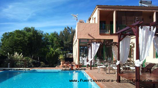 Rural Hotel for sale in Lajares Fuerteventura