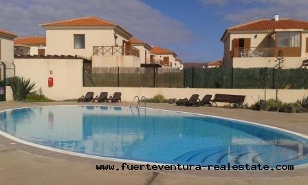 For Sale! Beautiful detached 2 bedroom duplex in Tamaragua in Fuerteventura