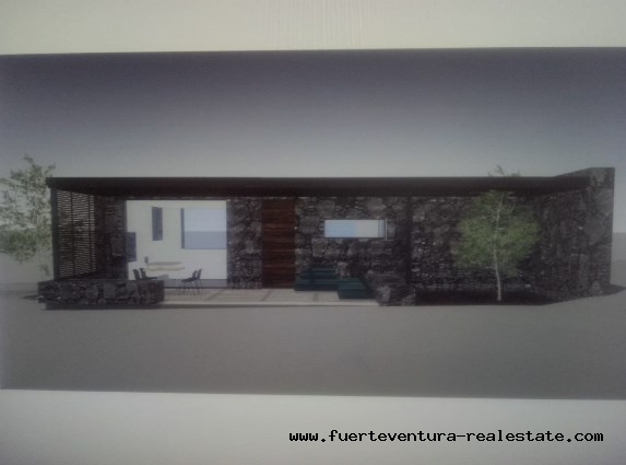 For sale! Beautiful plot with construction project in Villaverde!