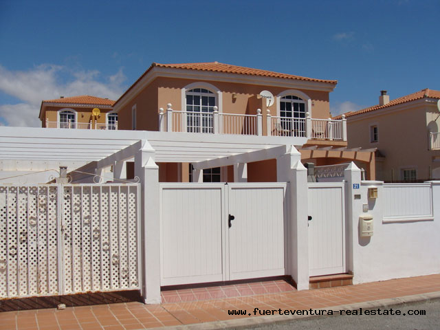 For rent! Beautiful villa on the golf course in Caleta de Fuste