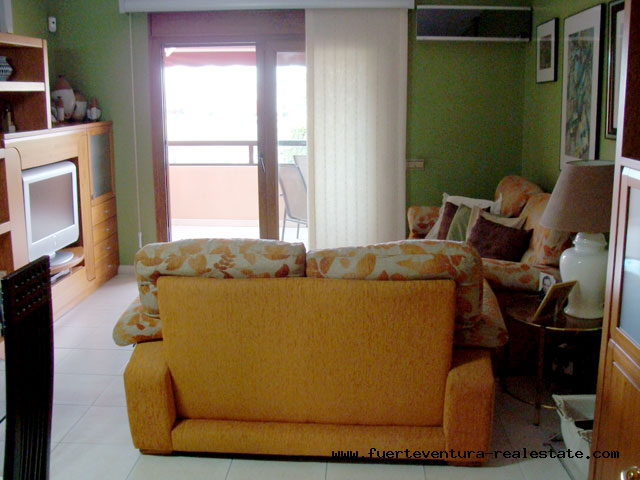 For Sale! Beautiful and spacious apartment with 3 bedrooms in the center of Puerto del Rosario