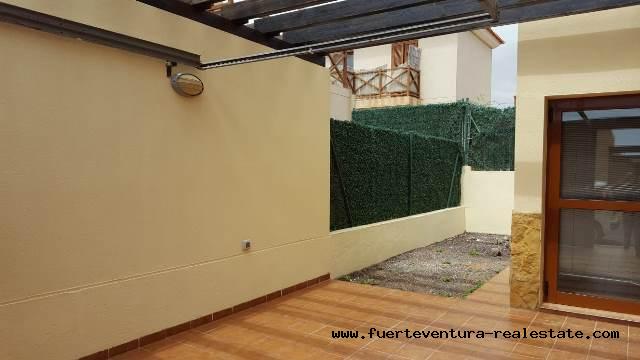 For Sale! Beautiful detached 1 bedroom duplex in Tamaragua in Fuerteventura