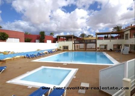 Im Verkauf! Schönes Apartment gelegen in der Wohnanlage Los Abanicos in Corralejo