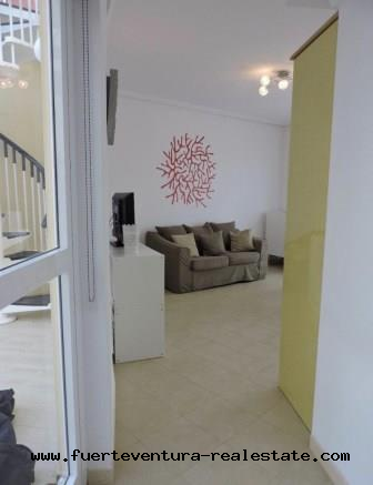 For sale! Nice apartment located in the condominium Los Abanicos in Corralejo