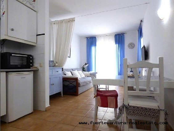 For sale! Nice apartment in the complex Verdemar in Corralejo