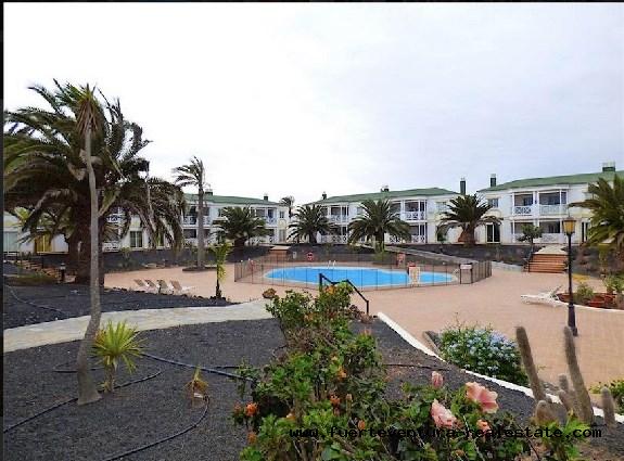 En vente! Bel appartement dans le complexe Verdemar à Corralejo