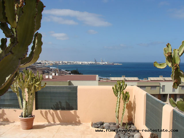 For Sale! Spectacular villa with pool and unique sea views in Playa Blanca!