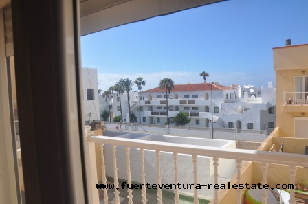 For sale! Spacious 2 bedroom apartment with garage in Corralejo