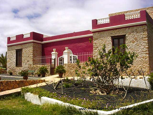 Te koop! Het landhotel Era de la corte in Antigua, Fuerteventura