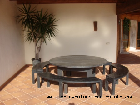 We sell a unique property in Los Risquetes on Fuerteventura
