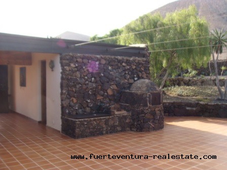 Wij verkopen een uniek pand in Los Risquetes op Fuerteventura