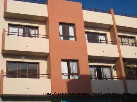 For sale! 2 bedroom apartment located on the Pizarro Street in Corralejo