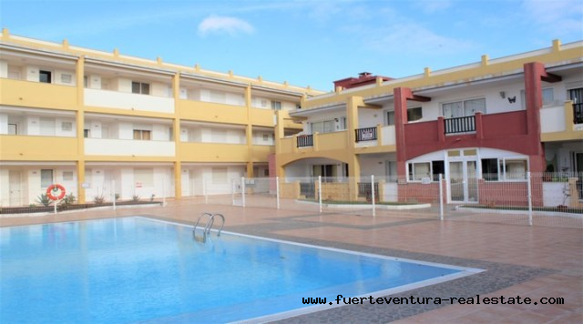 A vendre! Appartement de 2 chambres avec vue sur la mer à La Caleta, Parque Holandes