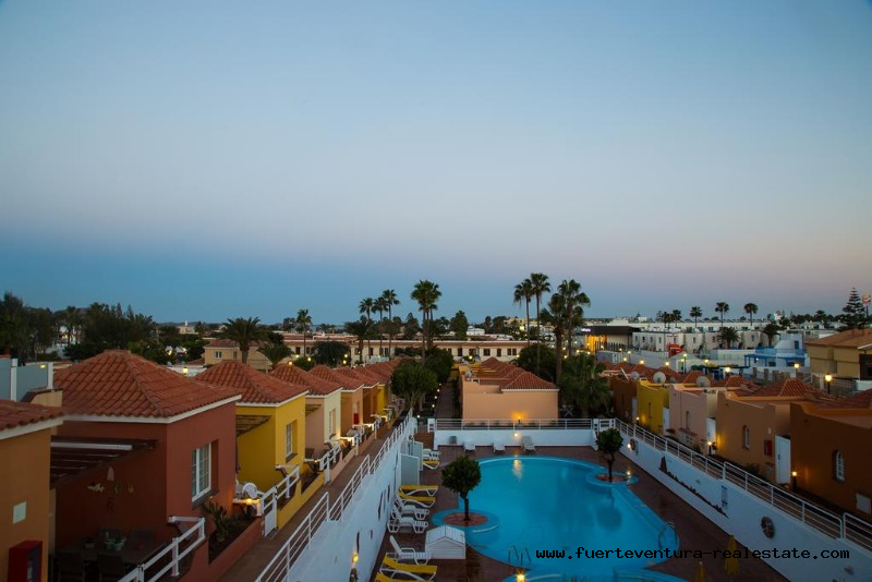 Vendiamo un complesso turistico con un'ottima posizione a Corralejo Fuerteventura.