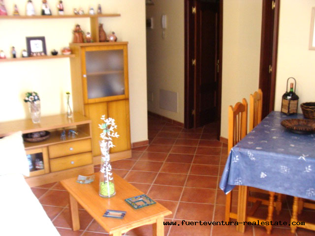For sale! Nice apartment near the beach in El Cotillo on Fuerteventura