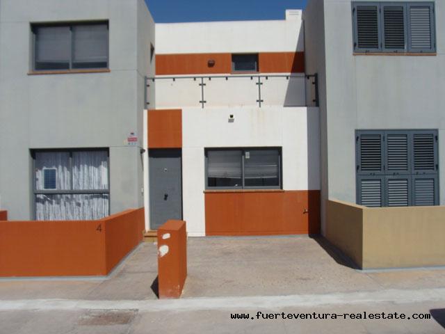 Nice townhouse with panoramic sea views in Caleta de Fustes Fuerteventura