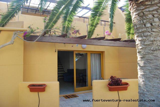 Te koop! Mooi appartement met 3 slaapkamers in het Los Pinos-complex in Corralejo.