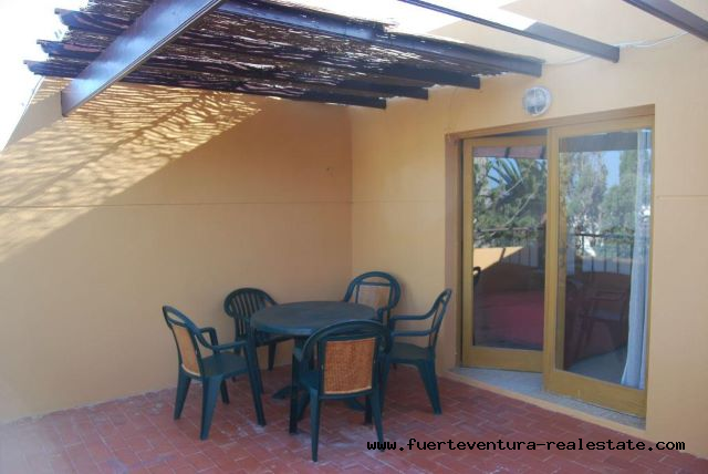Im verkauf! Schöne Wohnung mit 3 Schlafzimmern in der Anlage Los Pinos in Corralejo.