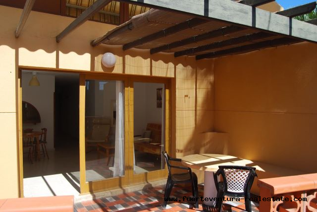 Im verkauf! Schöne Wohnung mit 1 Schlafzimmer in der Anlage Los Pinos in Corralejo.