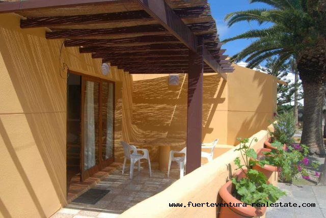 For sale! Beautiful 2 bedroom apartment in the Los Pinos complex in Corralejo.