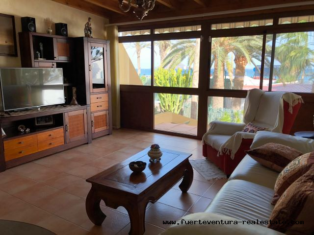 For sale! Beautiful 1 bedroom apartment in the Los Pinos complex in Corralejo.