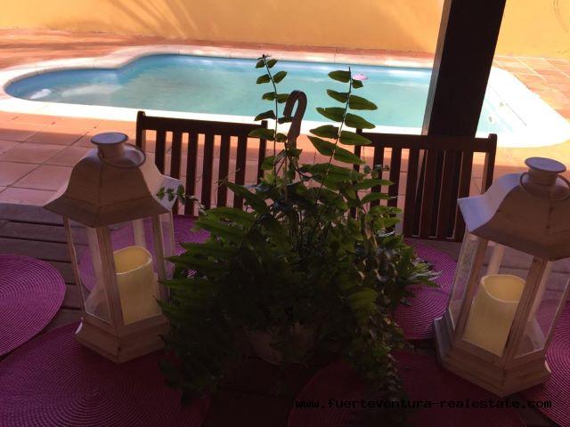 À vendre! Belle villa dans le complexe Oasis Papagayo & Resorts à Corralejo