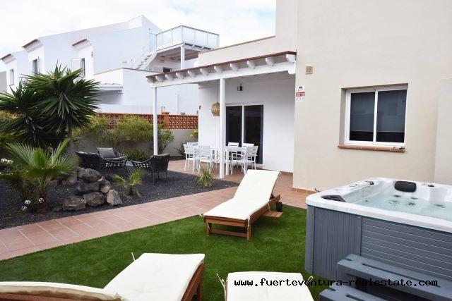 À vendre! Belles maisons familiales à Corralejo sur Fuerteventura.