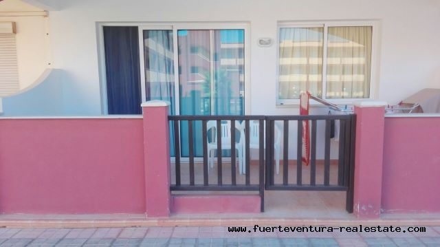 For sale! Nice apartment in the residential complex Las Caletas on Fuerteventura