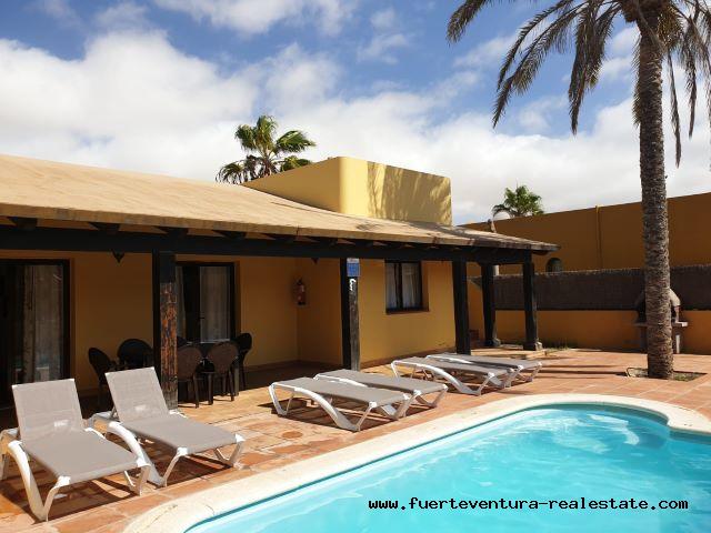 Te koop ! Prachtige villa in Corralejo op Fuerteventura