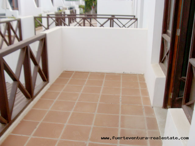 We rent a nice apartment with community pool in a good location of Corralejo on Fuerteventura