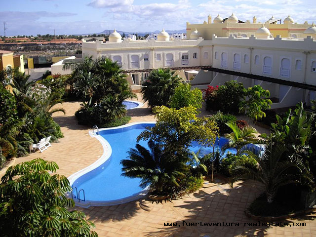 For sale! Nice apartment in the El Sultan development in Corralejo