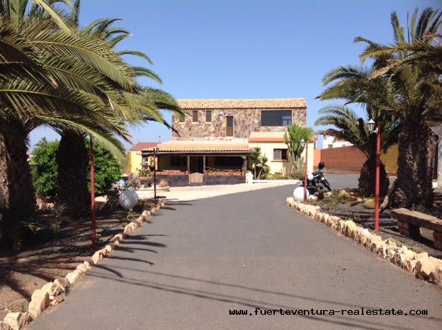 This beautiful villa with sea views is for sale in Los Estancos on Fuerteventura