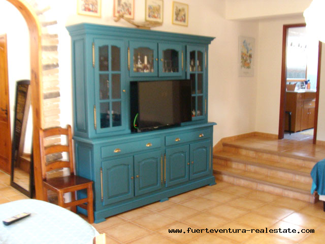 This beautiful villa with sea views is for sale in Los Estancos on Fuerteventura