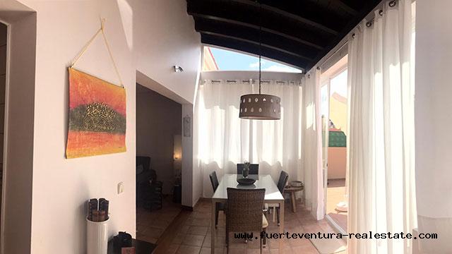 Im Verkauf! Schöne Villa in der Wohnsiedlung las Margaritas in Corralejo, Fuerteventura.