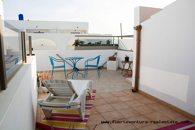 For sale! Nice apartment in El Cotillo with beautiful sea views