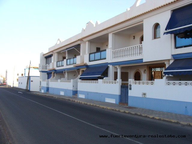 For rent a beautiful apartment in Puerto Lajas, Fuerteventura