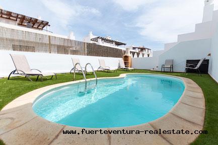 For sale! Beautiful and spacious villa in Royal Park Village in Corralejo in Fuerteventura