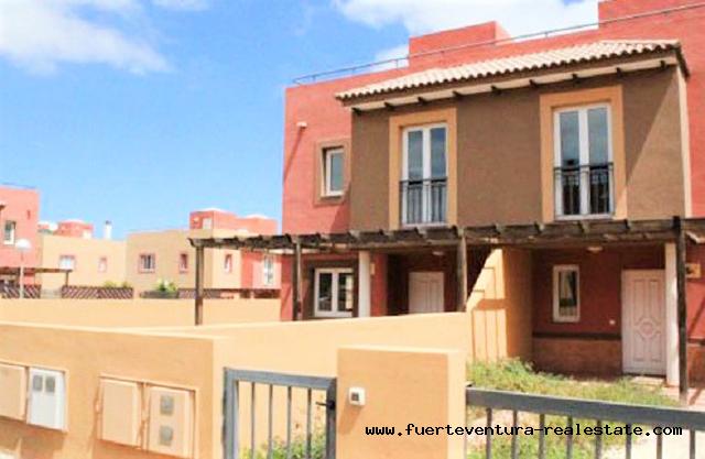 For sale! Terraced Villas in Mirador de las Dunas in Corralejo