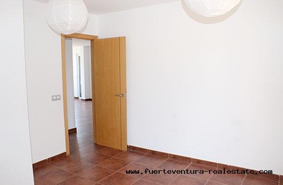 Im Verkauf! Wohnungen mit 3 Schlafzimmer und Garten in Corralejo auf Fuerteventura