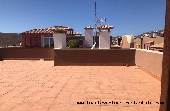For sale! 3 bedroom apartments and private roof terrace in Corralejo on Fuerteventura