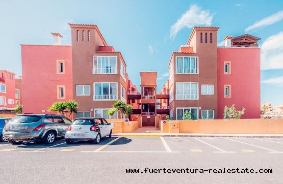 Zu verkaufen! 3-Zimmer-Apartment im ersten Stock in Corralejo, Fuerteventura