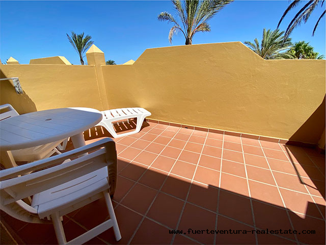 Im Verkauf! Schöne Wohnung in der Ferienanlage Oasis Papagayo  in Corralejo auf Fuerteventura