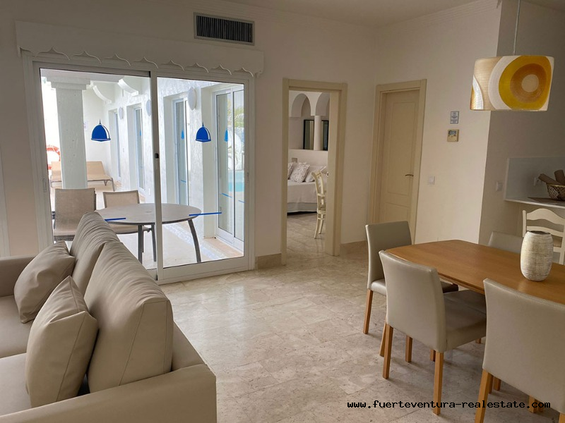 À vendre! Villa de luxe à Bahia Azul située à Corralejo à Fuerteventura