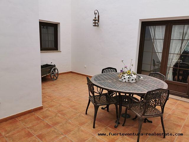 For sale!  Beautyful rural finca at the village of La Asomada, Fuerteventura