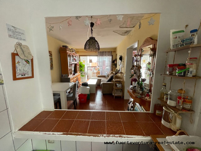 We are selling a 1 bedroom apartment centrally located in Corralejo