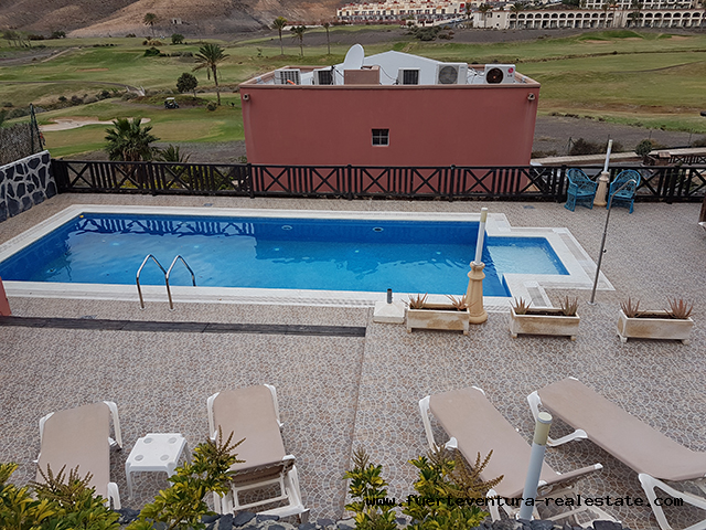 We sell a beautiful Triplex Villa on the Jandia Golf Course