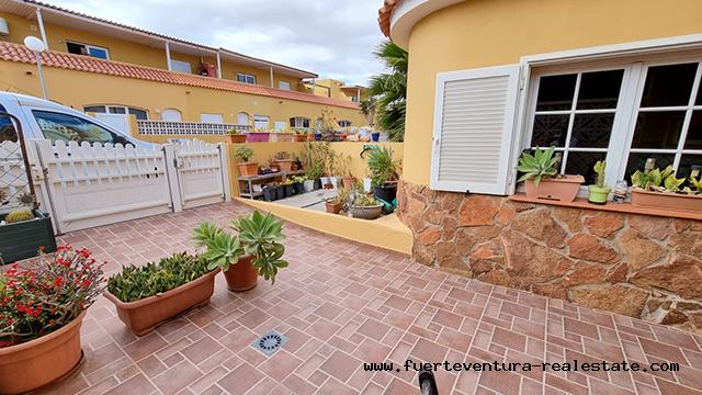 A nice duplex for sale in Costa Calma Fuerteventura
