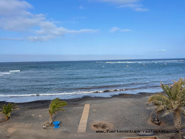 We are selling a beautiful penthouse right on the beach in Puerto Lajas